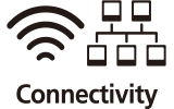 Wi-Fi and Ethernet connectivity